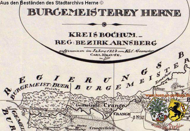 Herne Karte Stadtteile.Die Fleithe Ein Stuck Herner Gewassergeschichte Hist
