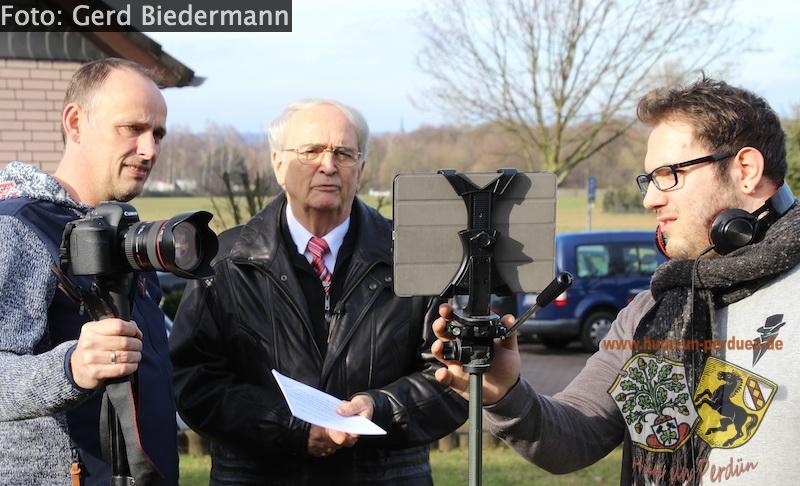 """Datei:Das Team beim Videodreh """"Das Pestkreuz"""".jpg"""
