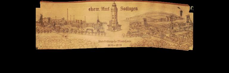 Ehemaliges Amt Sodingen. Werk von Josef Menne.