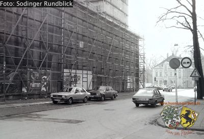 Dachrinnenreparatur am Sodinger Bunker SR130 1981 02.jpg