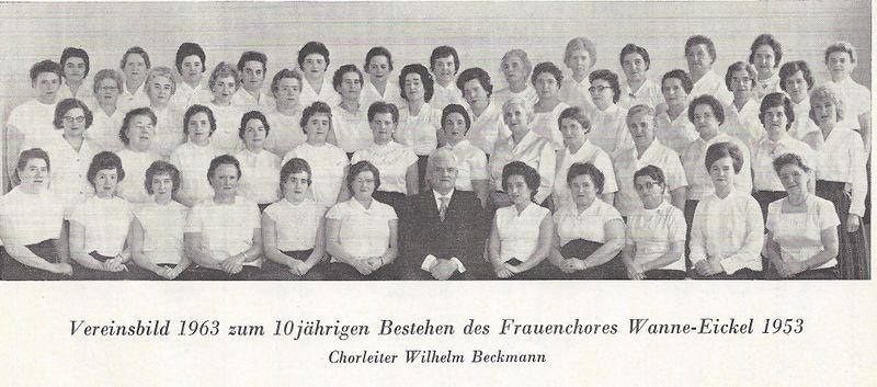 Datei:Frauenchor Wanne-Eickel, 1963.jpg