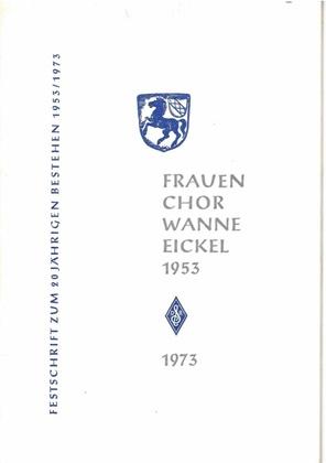 Frauenchor Wanne-Eickel, Festschrift 1973.pdf