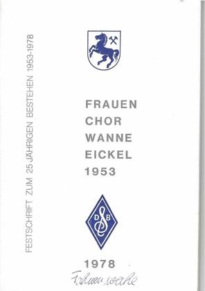 Frauenchor Wanne-Eickel, Festschrift 1978.pdf