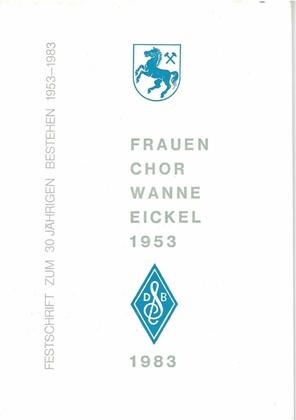 Frauenchor Wanne-Eickel, Festschrift 1983.pdf