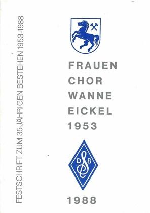 Frauenchor Wanne-Eickel, Festschrift 1988.pdf