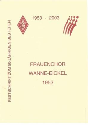 Frauenchor Wanne-Eickel, Festschrift 2003.pdf