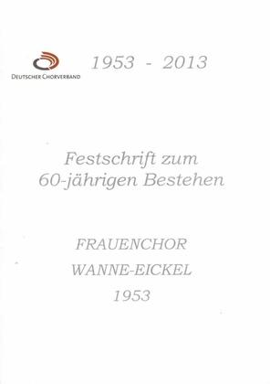Frauenchor Wanne-Eickel, Festschrift 2013.pdf