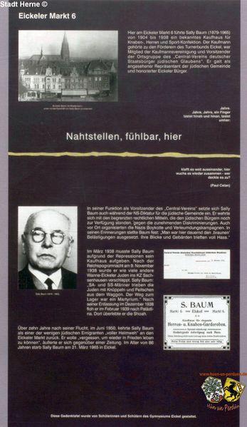 Datei:Gedächtnistafel Eickeler Markt 6.jpg
