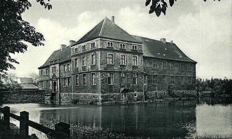 Datei:Schloss Strünkede Postkarte 1956.jpg